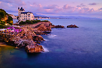 France, Pyrénées-Atlantiques (64), Pays Basque, Biarritz, villa Belza // France, Pyrénées-Atlantiques (64), Basque Country, Biarritz, villa Belza