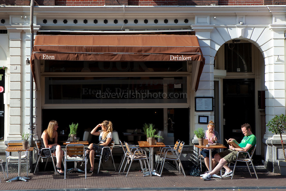 Cafe culture in Utrecht