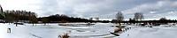 HALFWEG - Winter 2021. AGC , De Amsterdamse Golf Club,  in de sneeuw. panorama  COPYRIGHT  KOEN SUYK