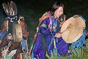 Traditional Mongolian religious celebration