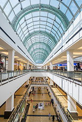 Interior of new extension (opened September 2015) to Mall of the Emirates in Dubai United Arab Emirates
