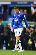 Ross Barkley of Everton looking dejected at the end of the game. Premier league match, Everton v Chelsea at Goodison Park in Liverpool, Merseyside on Sunday 30th April 2017.<br /> pic by Chris Stading, Andrew Orchard sports photography.