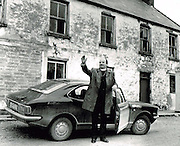 Bishop Eamon Casey outside his home in Firies near Killarney in 1974..Picture by Donal MacMonagle.macmonagle archive
