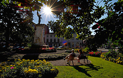 SPA, BELGIUM - Relaxing in downtown Spa (Photo © Jock Fistick)