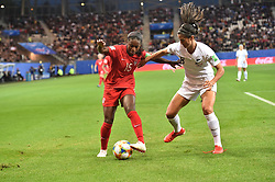 June 15, 2019 - Grenoble, France, FRANCE - Nichelle Prince (canada) vs Abby Erceg  (Credit Image: © Panoramic via ZUMA Press)