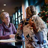 Nederland, Hoofddorp , 23 december 2013.<br /> Geestelijk verzorger Petra Renes in het Spaarneziekenhuis.<br /> Foto:Jean-Pierre Jans