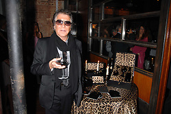 ROBERTO CAVALLI at a party to celebrate the launch of Cavalli Selection - the first ever wine from Casa Cavalli, held at 17 Berkeley Street, London W1 on 29th May 2008.<br /><br />NON EXCLUSIVE - WORLD RIGHTS