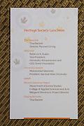 The San Jose State University Heritage Society enjoys their annual luncheon at Flames Eatery & Bar in downtown San Jose, California, on October 31, 2014. (Stan Olszewski/SOSKIphoto)