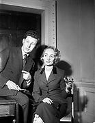 21st January 1955<br /> <br /> Raymond Kenna fashion show at the Shelbourne Hotel, Dublin.