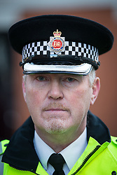 """© Licensed to London News Pictures . 29/12/2013 . Manchester , UK . SUPERINTENDENT JOHN BERRY of Greater Manchester Police , investigating , said, """"We are extremely concerned for Adam's welfare and we are stepping up our searches. If you have any information about his whereabouts or you remember seeing Adam we would urge you to get in touch and tell us where you saw him or where he may have been going.<br /> <br /> """"In particular, while he was walking up Oxford Road Adam appears to be walking alongside a couple and speaking to them. If this was you please get in touch and tell us what you know. We are trying to trace Adam's movements and at this point it is not clear what direction he goes in. This couple may have vital information to help us find him.""""<br /> <br /> The search for 17 year old Adam Pickup from Stockport , who was last seen in the early hours of Saturday 28th December in Manchester City Centre following a night out with friends as , this evening (Sunday 29th December 2013), Greater Manchester Police say they have arrested two men in connection with the teenager's disappearance . Photo credit : Joel Goodman/LNP"""