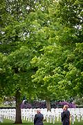 Margraten , 24-05-2020 , Ahoy Hallen , Koning aanwezig bij Memorial Day in Margraten.<br /> <br /> Koning Willem Alexander is ter gelegenheid van 75 jaar bevrijding van Nederland aanwezig bij Memorial Day op de Amerikaanse Begraafplaats Margraten. De Koning legt tijdens de herdenking de eerste krans. Vanwege de uitbraak van het coronavirus COVID-19  wordt de herdenking dit jaar in aangepaste verkorte vorm gehouden, zonder publiek.<br /> <br /> On the occasion of the 75th anniversary of the liberation of the Netherlands, King Willem Alexander will be attending Memorial Day at the American Cemetery Margraten. The King will lay the first wreath during the commemoration. Due to the outbreak of the coronavirus COVID-19, this year's commemoration will be held in an adapted abbreviated form, without an audience.