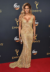 Laverne Cox attends the 68th Annual Primetime Emmy Awards at Microsoft Theater on September 18, 2016 in Los Angeles, CA, USA. Photo by Lionel Hahn/ABACAPRESS.COM