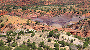 The colors of the Arizona desert along House Rock Valley Road near the Utah border
