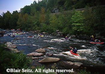 PA landscapes, Kayaking, Lehigh River, PA