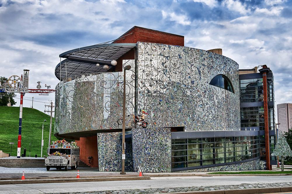 American Visionary Art Museum, Inner Harbor, Baltimore, Maryland, USA.