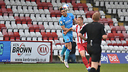 Cheltenham Town's Charlie Raglan during the EFL Sky Bet League 2 match between Stevenage and Cheltenham Town at the Lamex Stadium, Stevenage, England on 20 April 2021.
