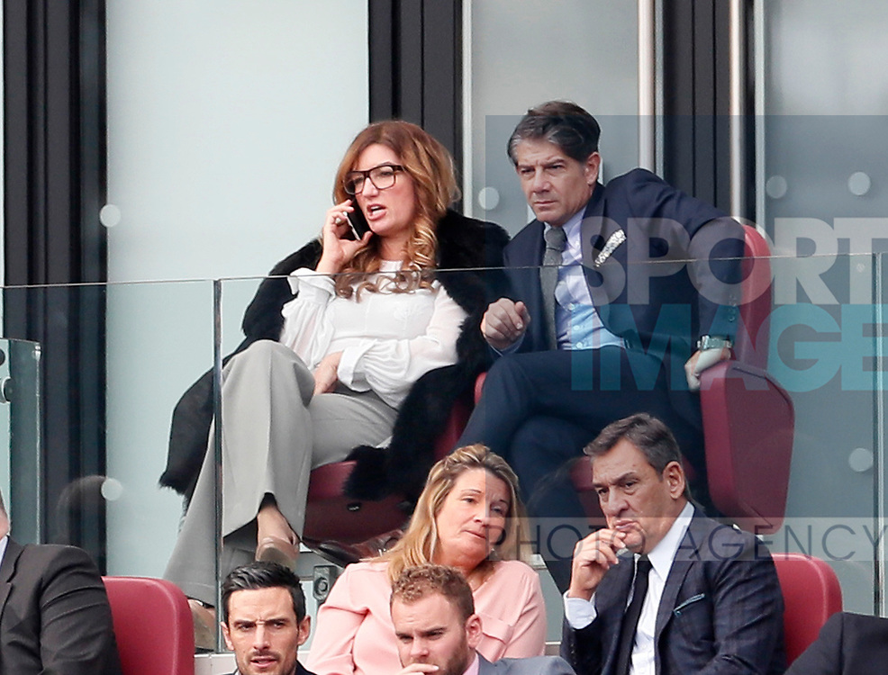 West Ham's Karen Brady looks on during the premier league match at the London Stadium, London. Picture date 23rd September 2017. Picture credit should read: David Klein/Sportimage