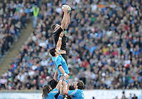 Rome, Italy -In the photo Retallik in touche during .Olympic stadium in Rome Rugby test match Cariparma.Italy vs New Zealand (All Blacks). (Credit Image: © Gilberto Carbonari).