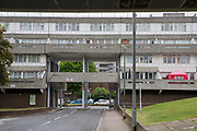 Thamesmead Estate, social housing run by the Peabody Trust, Greenwich & Bexley borough, London, UK.