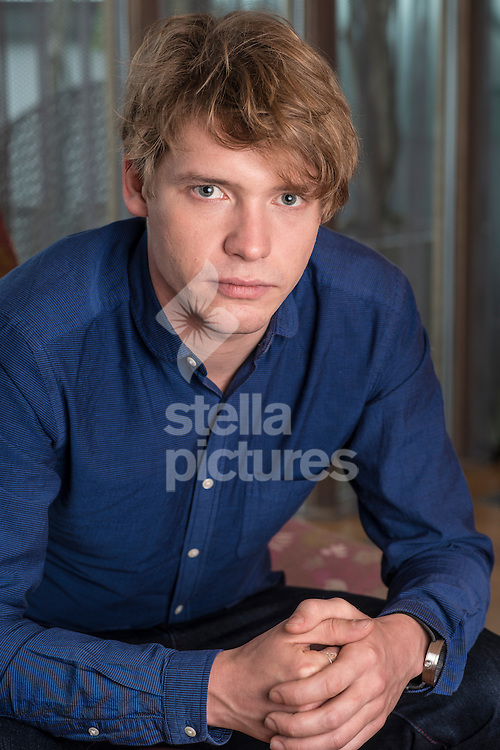 British actor and model, Billy Howle pictured at a central London hotel.<br /> Picture by Daniel Hambury/Stella Pictures Ltd 07813022858<br /> 07/12/2016