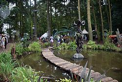 Solas area, Latitude Festival 2016, Henham Park, Suffolk, UK