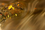 Peterson Falls, Montreal River, Hurley, Wisconsin, natural nature peaceful tranquil tranquility water waterfall leaves leaf