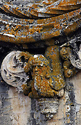 A sculpture detail in the Convent of Jesus Christ at Tomar in the Center of Portugal. Started to be built in the 12 th Century by the Poor Knights of Jesus Christ (the Templars), with strong influence from Jerusalem's religious buildings from the time of Crusades, as the Temple of the Rock.Paulo Cunha/4see