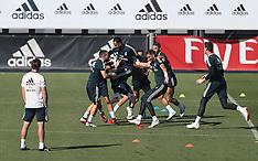Real Madrid Training - 28 Sept 2018