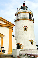 Guia Lighthouse has stood on the peak of Guia Hill for over 140 years and was the first lighthouse on the Chinese coast and the oldest in the Far East. A lantern is installed on top of the circular observation platform, and the light transmitter is reached by a flight of spiral stairs inside.  From this viewpoint, the whole of the Peninsula and the Historic Centre of Macau can be seen.