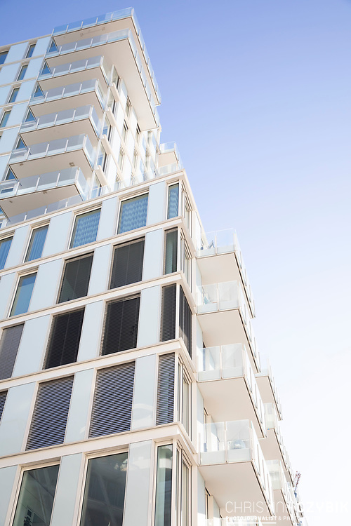 Architektur in der HafenCity in Hamburg, 19. April 2020