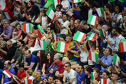 I TIFOSI DELL'ITALIA<br /> ITALIA - ARGENTINA<br /> PALLAVOLO VNL VOLLEYBALL NATIONS LEAGUE 2019<br /> MILANO 22-06-2019<br /> FOTO GALBIATI -  RUBIN