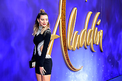 Montana Brown attending the Aladdin European Premiere held at the Odeon Luxe Leicester Square, London.