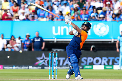 Rishabh Pant of India lets go of his bat as he goes for a big shot - Mandatory by-line: Robbie Stephenson/JMP - 30/06/2019 - CRICKET - Edgbaston - Birmingham, England - England v India - ICC Cricket World Cup 2019 - Group Stage
