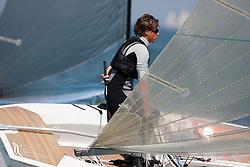 Finn, Day three, May 24th 2012. Delta Lloyd Regatta  (22/26 May 2012). Medemblik - the Netherlands.