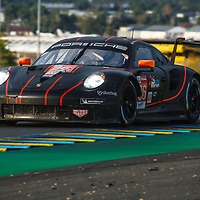 #86, Porsche 911 RSR, Gulf Racing, drivers: Ben Barker, Michael Wainwright, Andrew Watson, LM GTE Am, at the Le Mans 24H, 2020,  20 September 2020