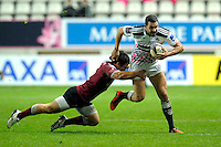 Geoffrey Doumayrou - 11.12.2014 - Stade Francais / Newcastle Falcons - European Rugby Challenge Cup<br />