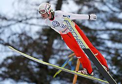 18.03.2012, Planica, Kranjska Gora, SLO, FIS Ski Sprung Weltcup, Einzel Skifliegen, im Bild David Zauner (AUT),  during the FIS Skijumping Worldcup Individual Flying Hill, at Planica, Kranjska Gora, Slovenia on 2012/03/18. EXPA © 2012, PhotoCredit: EXPA/ Oskar Hoeher.