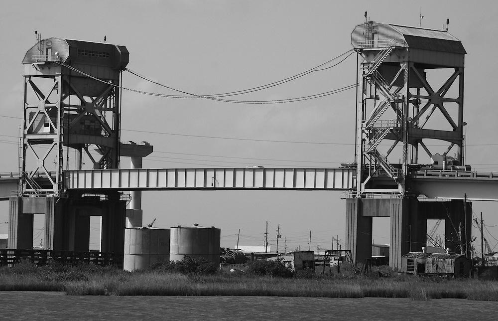 Leeville Bridge (detail)