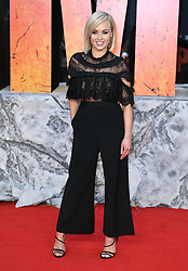 Jorgie Porter attending the European premiere of Rampage, held at the Cineworld in Leicester Square, London. Photo credit should read: Doug Peters/EMPICS Entertainment
