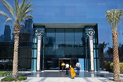 Entrance to Dell building in Dubai Internet City in United Arab Emirates UAE