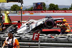 June 22, 2018 - Le Castellet, France - Motorsports: FIA Formula One World Championship 2018, Grand Prix of France, ..#9 Marcus Ericsson (SWE, Alfa Romeo Sauber F1 Team) (Credit Image: © Hoch Zwei via ZUMA Wire)