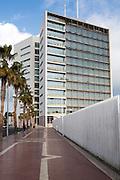 V Centenario building Melilla autonomous city state Spanish territory in north Africa, Spain