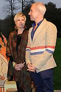 Boekpresentatie Mr Finney en het raadsel in de bomen bij Natuurmonumenten in 's Graveland.<br /> <br /> Book presentation Mr. Finney and the riddle in the trees at Natuurmonumenten in 's Graveland.<br /> <br /> op de foto / On the photo:  Prinses Laurentien en illustrator Sieb Posthuma / Princess Laurentien and illustrator Sieb Posthuma