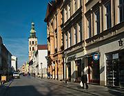 Plac św. Marii Magdaleny i pomnik Piotra Skargi w Krakowie.<br /> St. Mary Magdalene and the monument of Piotr Skarga in Cracow.
