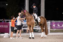 Werth Isabell, GER, Bella Rose 2, 140<br /> Olympic Games Tokyo 2021<br /> © Hippo Foto - Stefan Lafrentz<br /> 28/07/2021