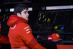 February 18, 2019 - Barcelona, Barcelona, Spain - Charles Leclerc from Monaco with 16 of Scuderia Ferrari Mission Winnow SF90 portrait during the Formula 1 2019 Pre-Season Tests at Circuit de Barcelona - Catalunya in Montmelo, Spain on February 18, 2019. (Credit Image: © Xavier Bonilla/NurPhoto via ZUMA Press)