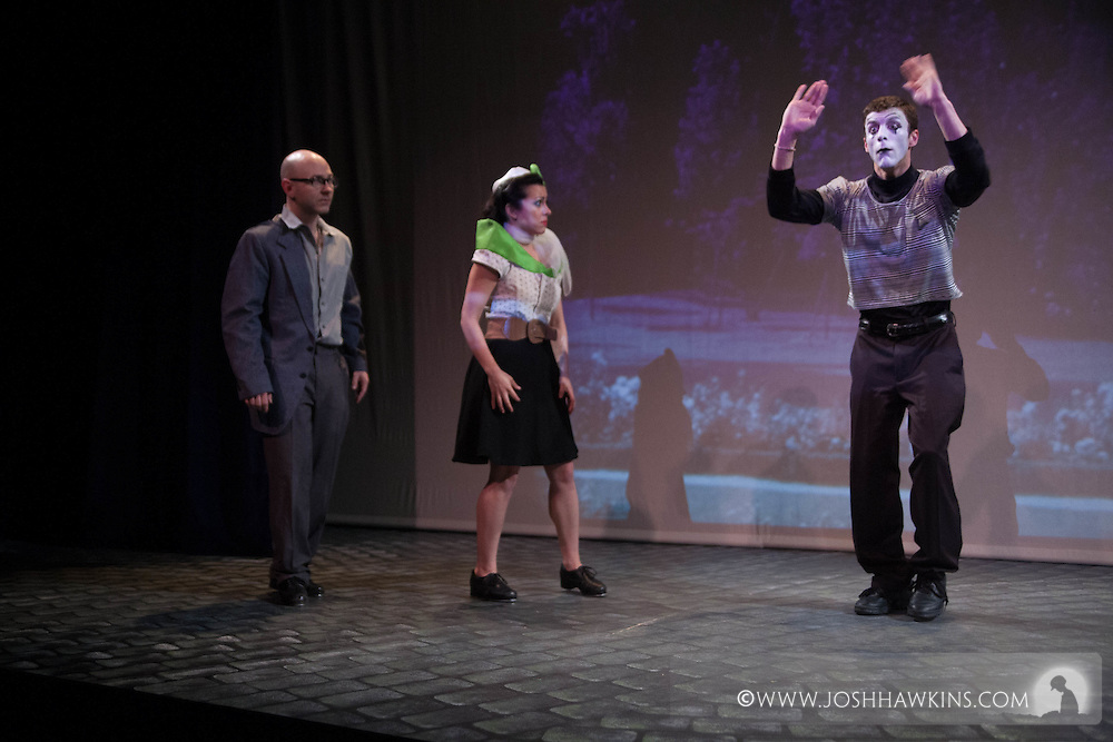 """Chicago Tap Theatre's show, """"Eyes Without a Face"""" at Stage 773"""