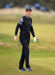 England's Ross Fisher on the 2nd during day one of the Betfred British Masters at Hillside Golf Club, Southport.