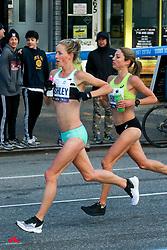 Sara Hall, USA, asics, Ellie Pashley, AUS, New Balance, TCS New York City Marathon 2019