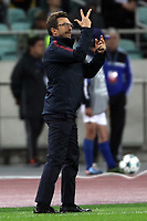 Eusebio Di Francesco Roma <br /> Baku 27-09-2017 Football Champions League 2017/2018 Group C Qarabag - AS Roma Foto Gino Mancini/Insidefoto
